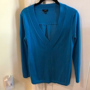 Talbots v neck sweater/blouse top MP